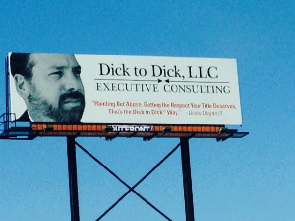 This billboard sits on I-40/64 at Boyle — the only of its kind in the country. - PHOTO BY MEILSSA MEINZER