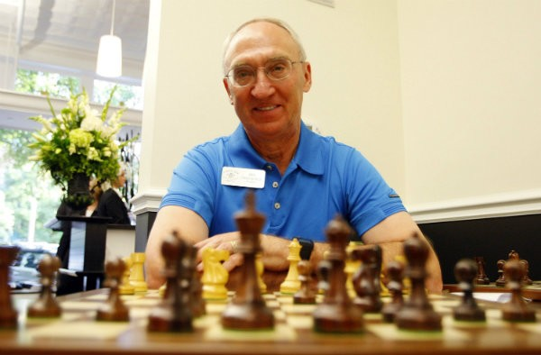 Rex Sinquefield has been a major donor to institutions in the city, including the Chess Club and Scholastic Center of Saint Louis — and a host of conservative politicians. - UPI PHOTO/BILL GREENBLATT