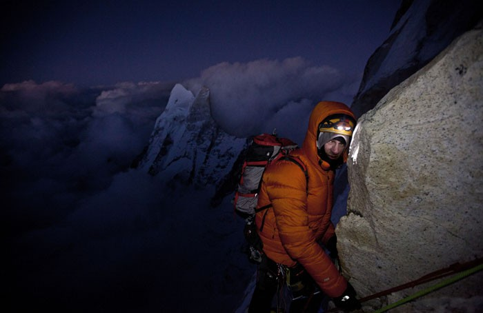 Renan Ozturk doing what he loves. - COURTESY OF MUSIC BOX FILMS / JIMMY CHIN