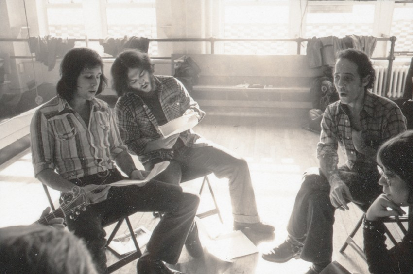 Some of the brains behind the Lampoon. - COURTESY MAGNOLIA PICTURES/MICHAEL GOLD