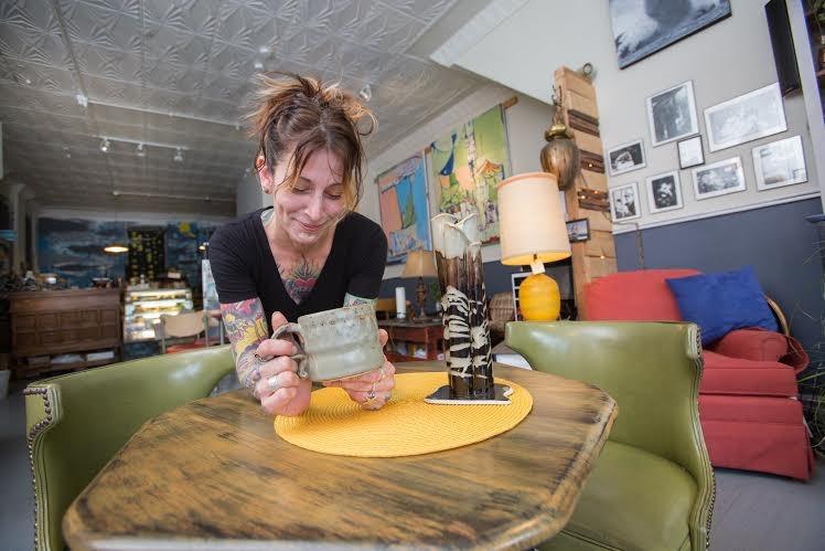 Nicole Mccormack of Restituo coffeehouse.
