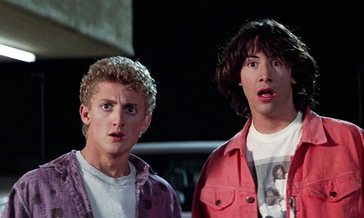 Bill and Ted, man. Join Bill — aka actor Alex Winter — for a Q-and-A after the screening Friday.