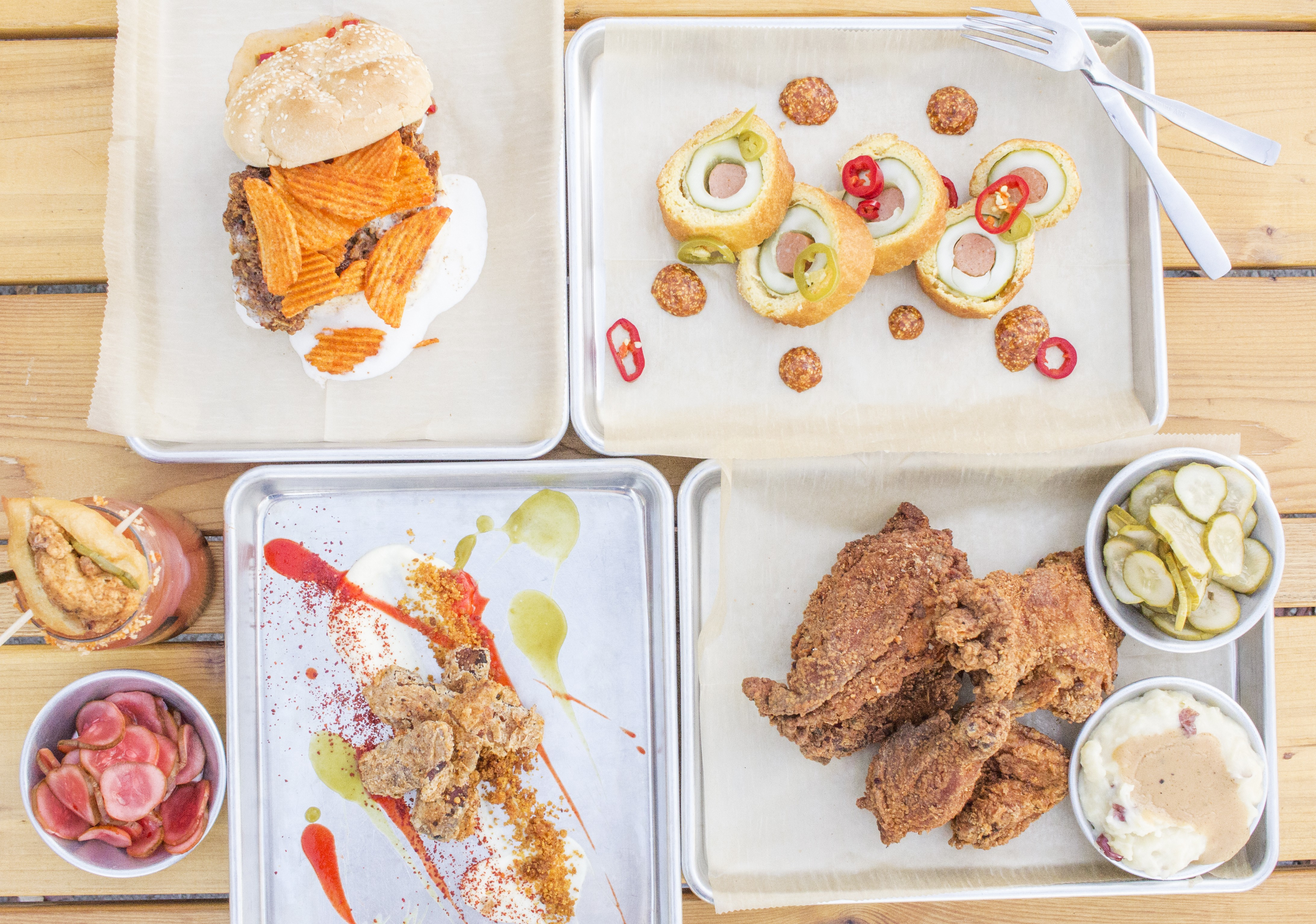 Review: Byrd & Barrel Does Fried Chicken with a Dose of Irony   Cafe ...