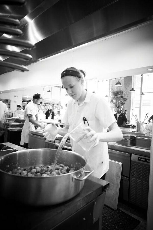 Ashley Shelton, executive chef at Pastaria. - GREG RANNELLS