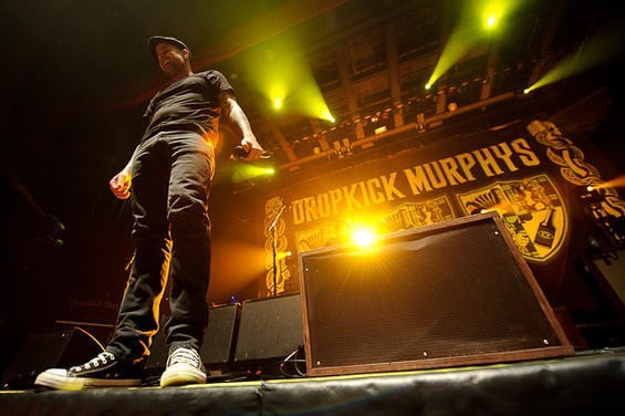 The Dropkick Murphys' 20th anniversary show comes to the Pageant Feb. 23. - PHOTO BY TODD OWYOUNG