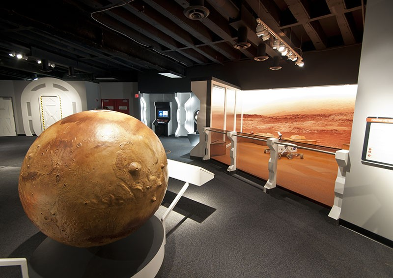 The Mission is Mars at the Saint Louis Science Center this weekend.