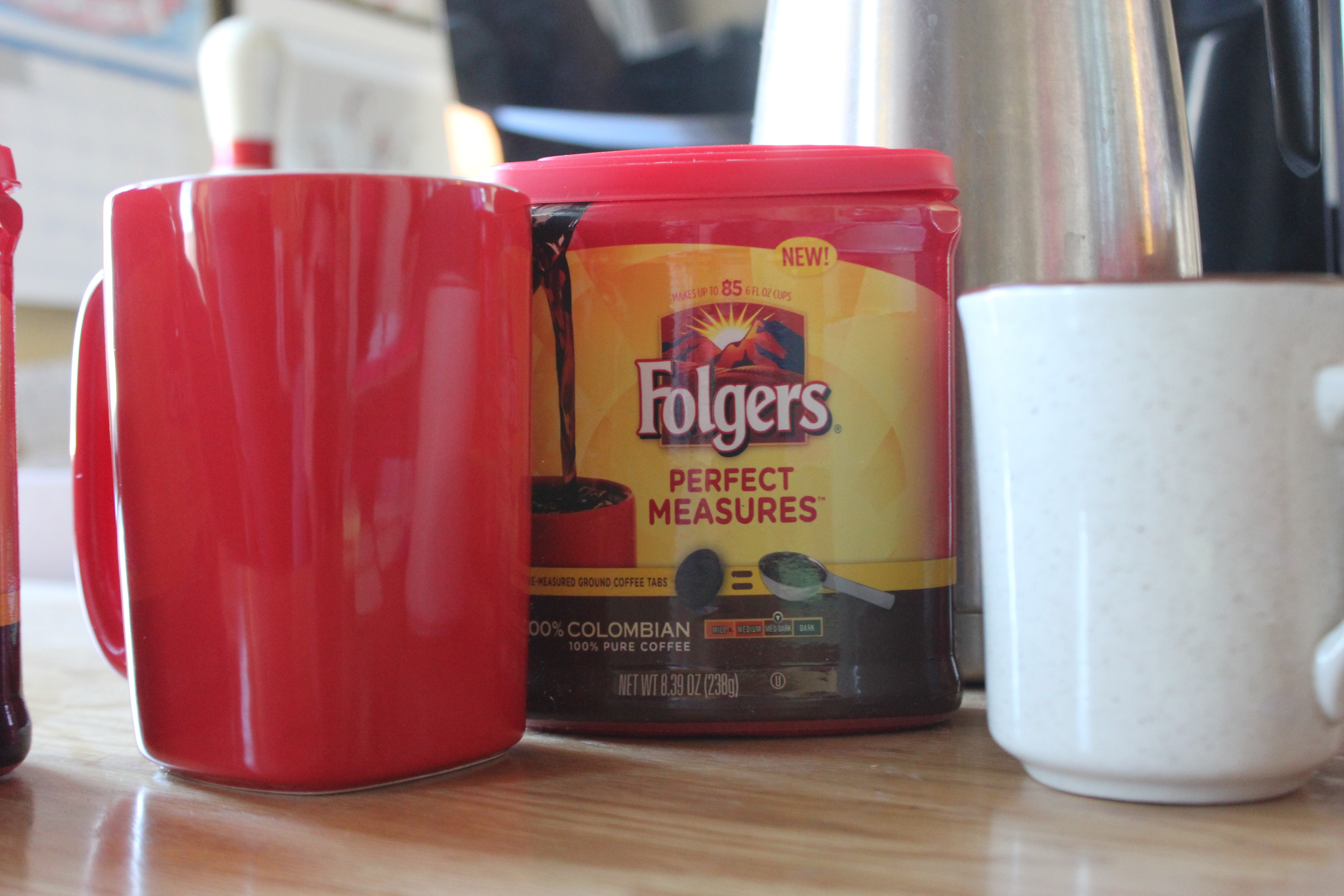Folgers One Cup Coffee Maker : We Tasted Folgers Perfect Measures ? And Yeah, We Ate Them, Too Food Blog