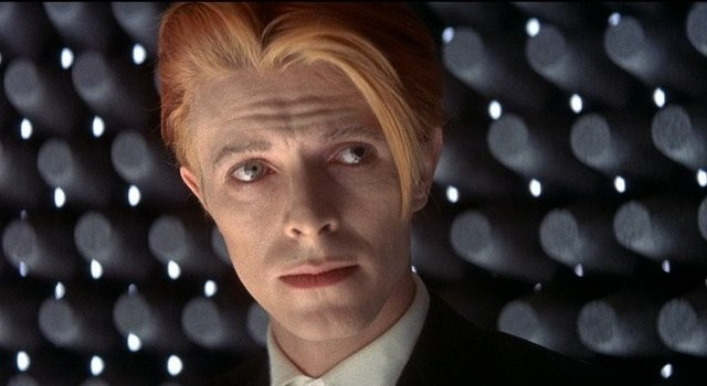 David Bowie, alien among us. - COURTESY WEBSTER FILM SERIES