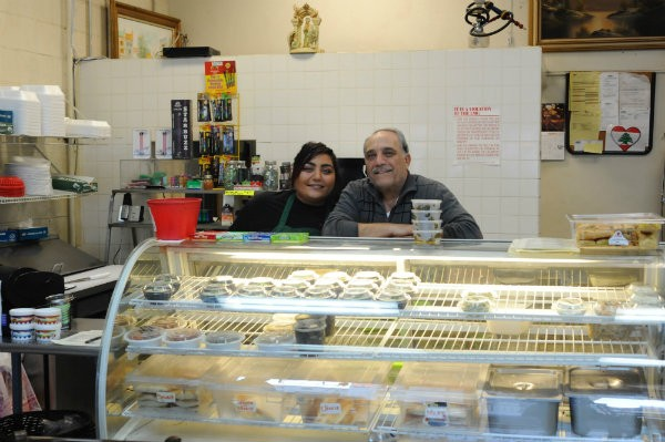 "Sleiman ""Sam"" Bathani, right, with his daughter Joeanne. - PHOTO BY SARAH FENSKE"