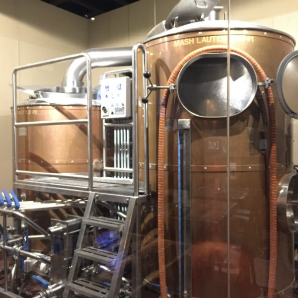 The brewery at PaPPo's. - EMILY HIGGINBOTHAM