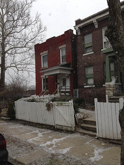 Thompson's family still lives in the Wells-Goodfellow neighborhood. - PHOTO BY DOYLE MURPHY
