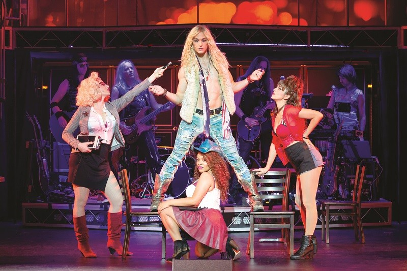Rock of Ages takes you back to the sleaziest clubs of 1980s  LA. - JEREMY DANIEL, 2018