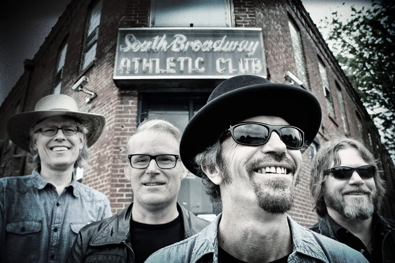 The Bottle Rockets, outside the South Broadway Athletic Club - PRESS PHOTO