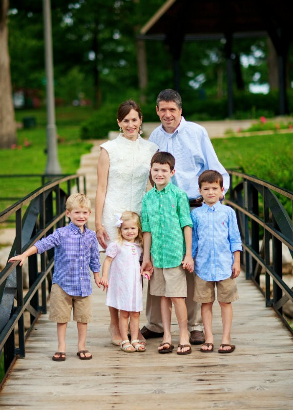 Today, John, his wife Beth, and their four children live in Webster Groves. - PHOTO COURTESY OF THE O'LEARY FAMILY