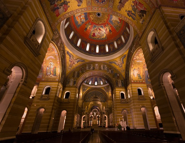 The Cathedral Basilica in St. Louis' Central West End - PHOTO COURTESY OF FLICKR/JACOB NORLUND