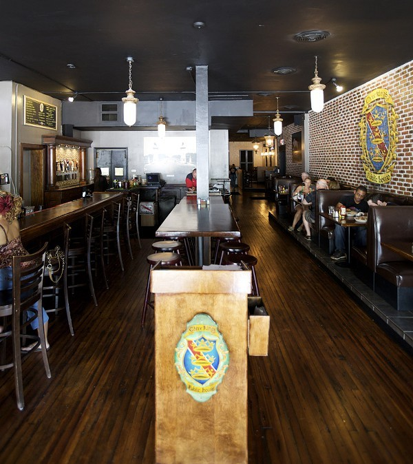 The bar at Three King's original location, in the Delmar Loop. - PHOTO BY JENNIFER SILVERBERG