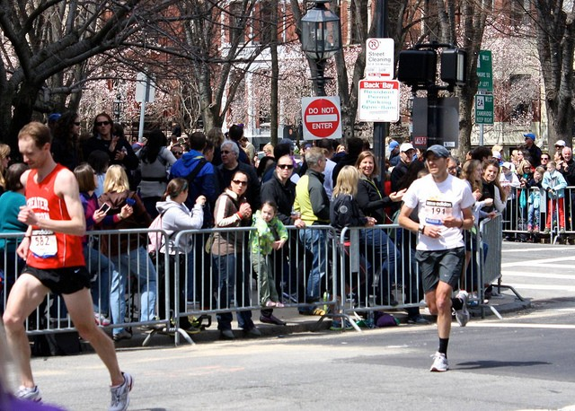 The 2013 Boston Marathon turned tragic — but a St. Louis company will be ready if anything goes wrong this year. - PHOTO COURTESY OF FLICKR/SONIA SU