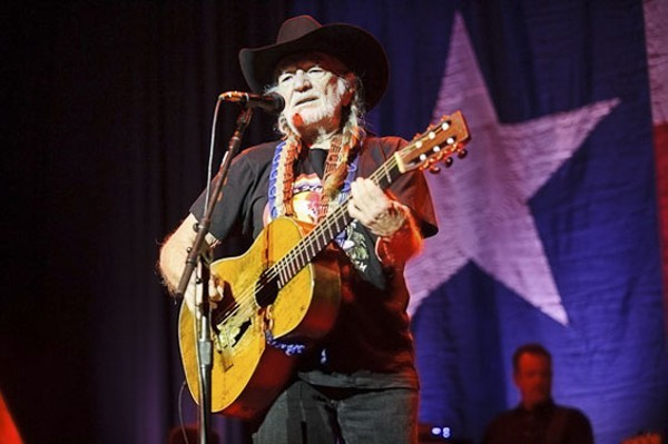 Willie Nelson performing at the Pageant in 2012 - PHOTO BY TODD OWYOUNG