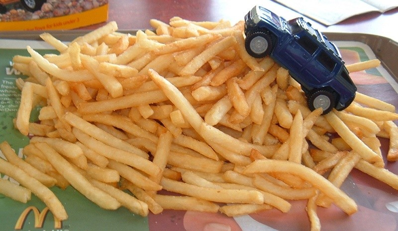 Start your engines, fry fans. - PHOTO BY EVELYNGIGGLES/FLICKR