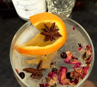 THE SPANISH G & T | PHOTO COURTESY OF THE GIN ROOM