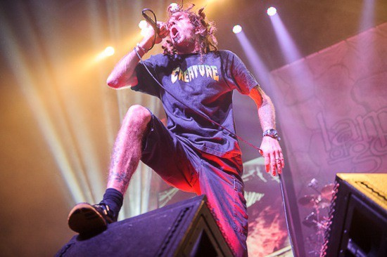 Lamb of God will perform at the Pageant on Thursday, May 12 - PHOTO BY TODD OWYOUNG