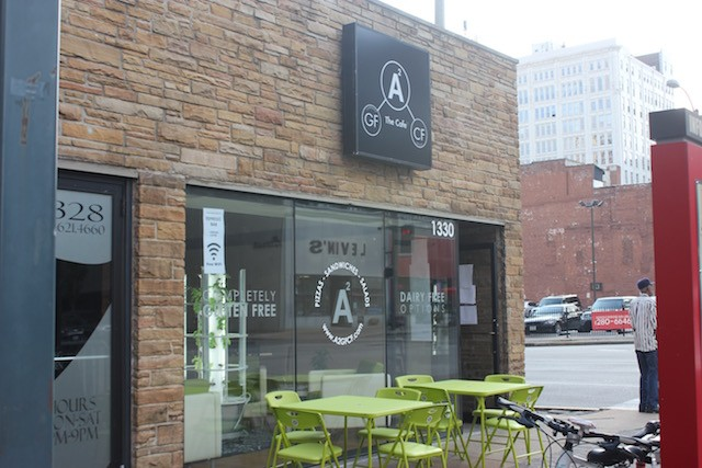 The new cafe is located a block from City Museum in a part of Wash Ave that gets plenty of street traffic. - PHOTO BY SARAH FENSKE