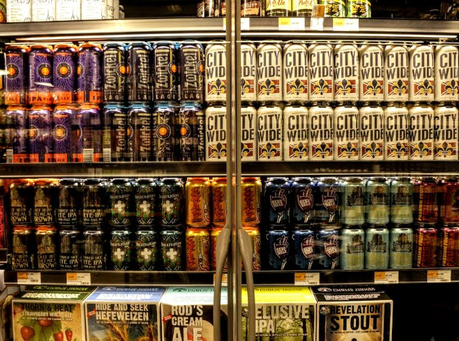 The Central West End Whole Foods offers a total of 200 beers and 700 wine selections. - KAVAHN MANSOURI