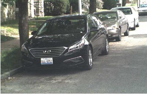 St. Louis police say Diata Crockett is probably driving this Hyundai Sonata. - IMAGE VIA SLMPD