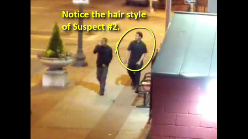 'Suspect #2' has turned himself in after a deadly carjacking. - IMAGE VIA SLMPD/YOUTUBE