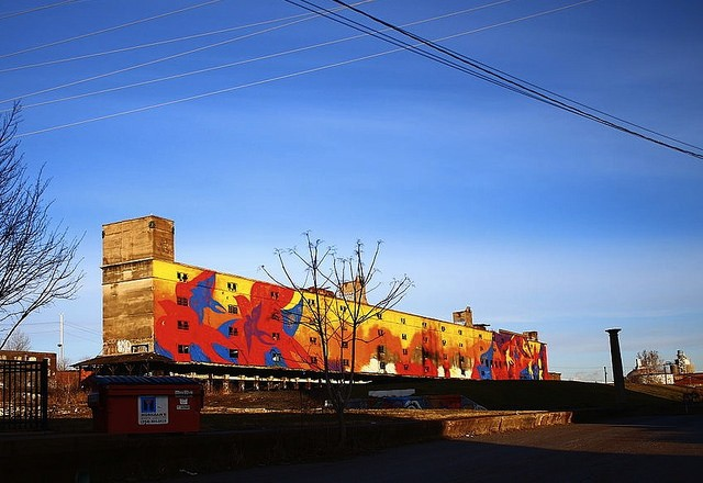 The Cotton Belt Freight Depot — No. 18 on our list, thanks to that gorgeous mural. - PHOTO COURTESY OF FLICKR/PAUL HOHMANN