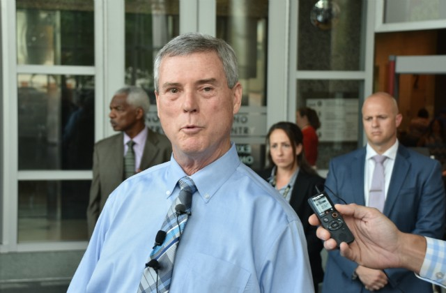 Bob McCulloch at news conference in 2018. - DOYLE MURPHY