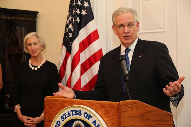 Missouri Governor Jay Nixon. - FLICKR VIA US EMBASSY PANAMA