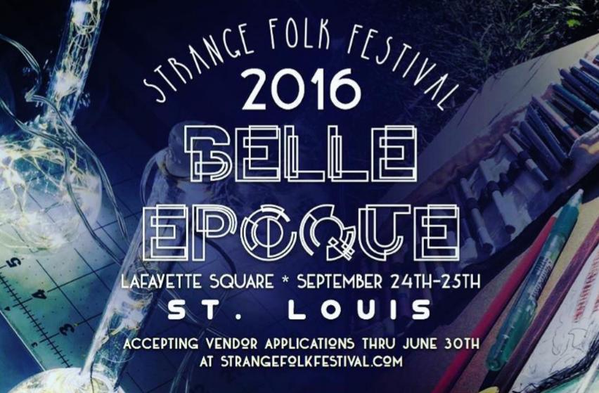 The Strange Folk Festival is set for Sept. 24-25 in Lafayette Square. - STRANGE FOLK FESTIVAL