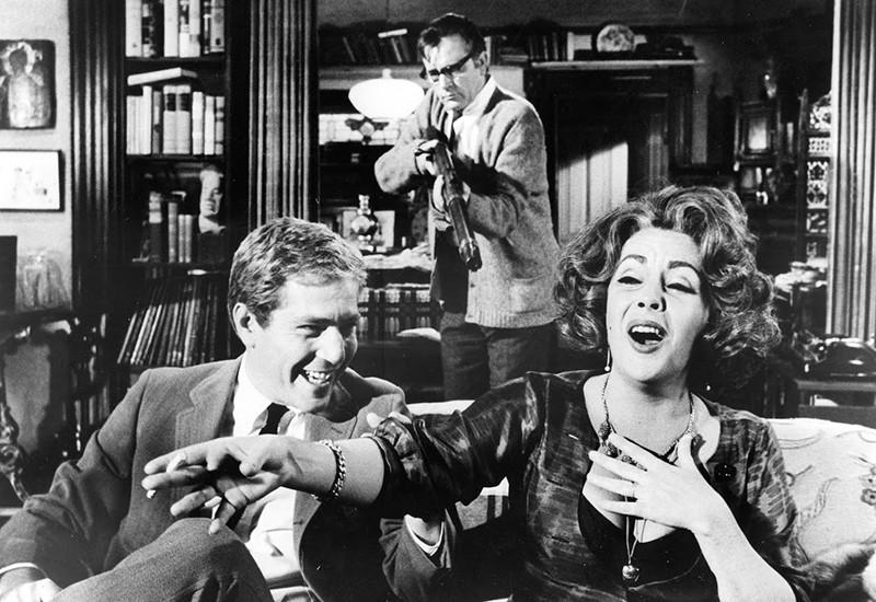 Richard Burton is so not afraid of Virginia Woolf.