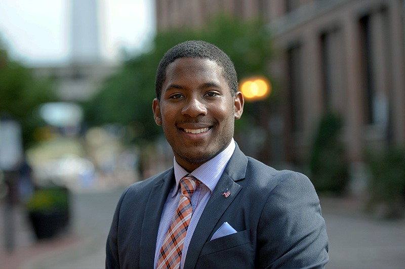 Marty Murray Jr. is running in the 7th Ward. - PHOTO BY HOLLY RAVAZZOLO