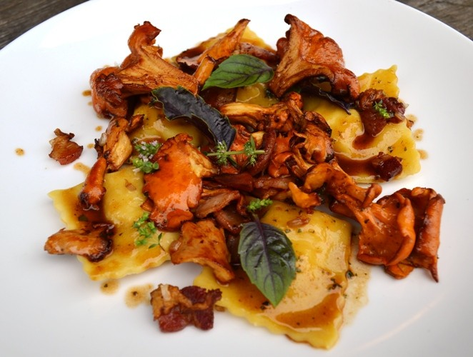 AGNOLOTTI AT FARMHAUS | COURTESY OF FARMHAUS