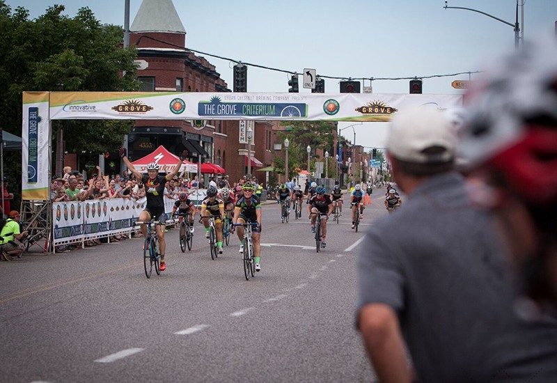 The Grove Criterium takes place Saturday. - PHOTO BY JAY BEAUVAIS