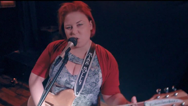 Miss Molly Simms - SCREENSHOT FROM THE VIDEO BELOW