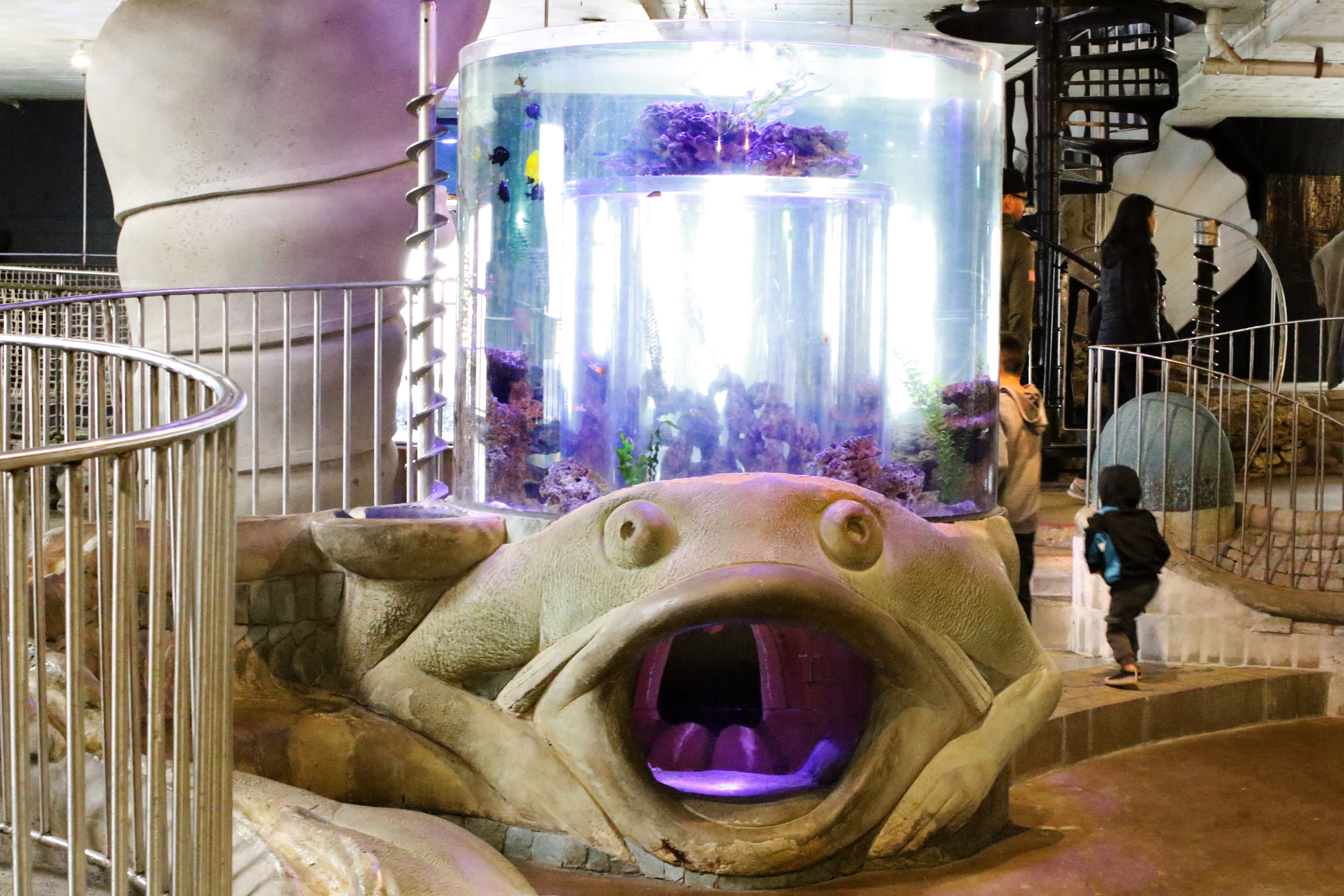 City Museum's New Artquarium Is Now Open — and Still Under Construction, Too