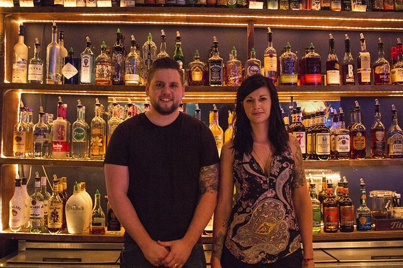 The Heavy Anchor's Joshua Timbrook and Jodie Whitworth. - PHOTO BY JOSEPH HESS