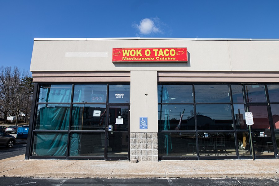 Wok O Taco is located in St. Louis County. - MABEL SUEN