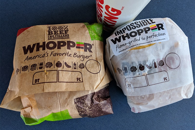 Burger King Just Rolled Out the 'Impossible Whopper' in St