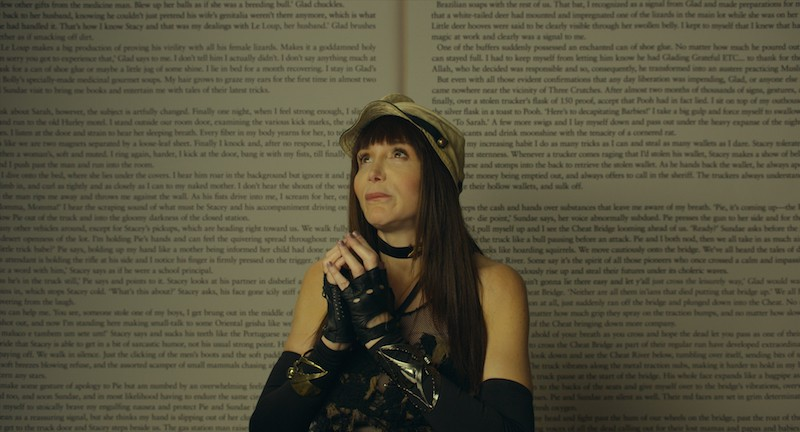 Laura Albert in Author: The JT LeRoy Story. - PHOTO  COURTESY OF AMAZON STUDIOS / MAGNOLIA PICTURES.