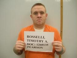 Timothy Rosselli faces federal charges of impersonating an officer. - IMAGE VIA MISSOURI DEPARTMENT OF CORRECTIONS