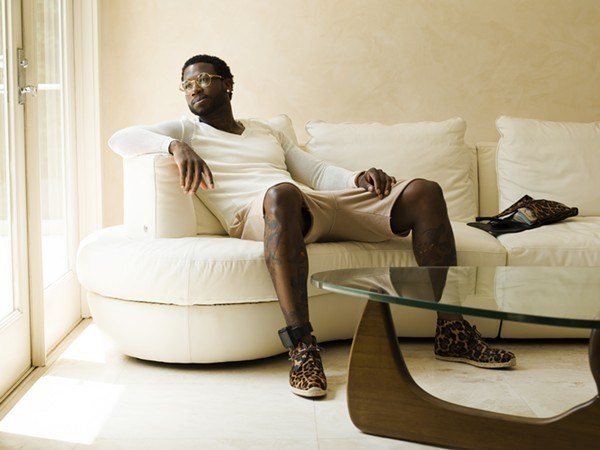 Gucci Mane will perform at the Ambassador on Saturday, December 3. - PHOTO BY JONATHON MANNION