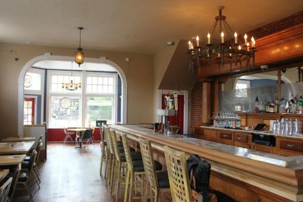 Spare No Rib's new bar area. - CHERYL BAEHR