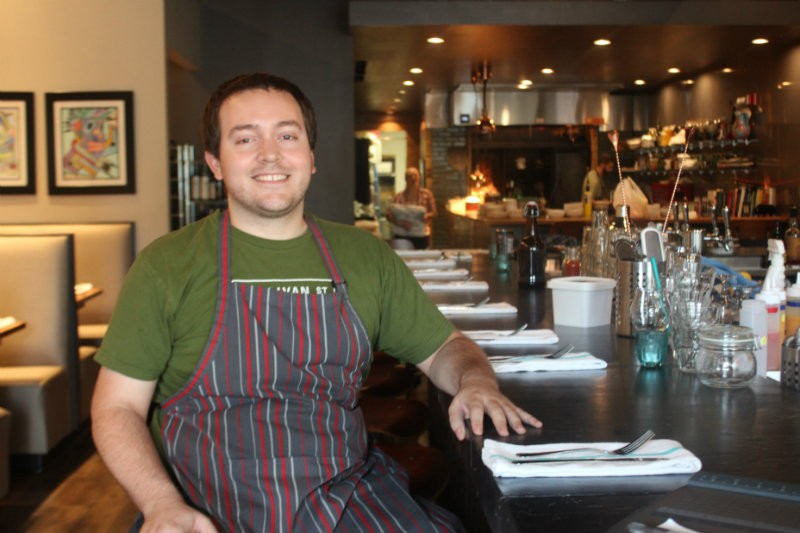 Sous Chef Bryan Russo - PHOTO BY SARAH FENSKE