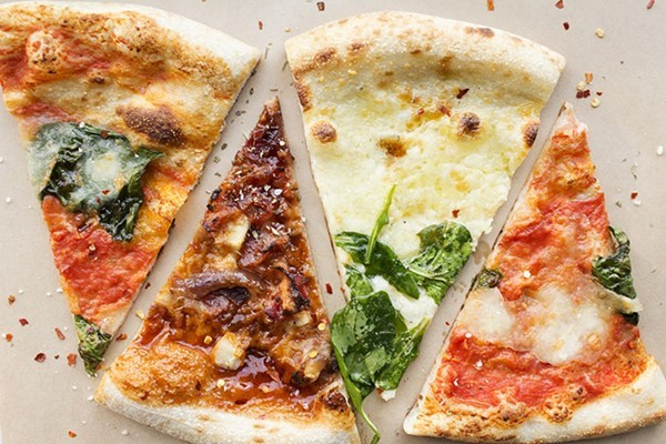 Pizzas for $1? Yes please. - MABEL SUEN