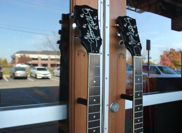 Door handles for those about to rock. - CHERYL BAEHR
