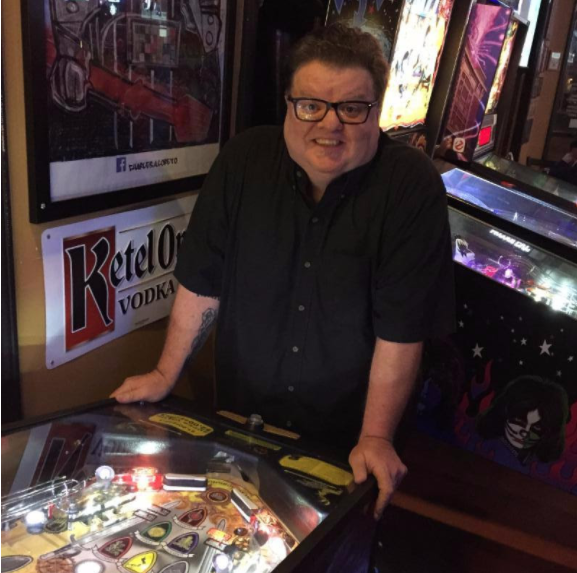 Richard Kennison has dreams of pinball immortality. - COURTESY OF CIRCUS HARMONY